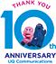 THANK YOU 10th ANNIVERSARY UQ Communications