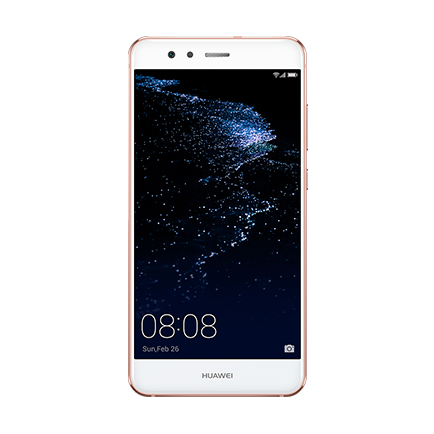 HUAWEI P10 lite(サクラピンク 正面)