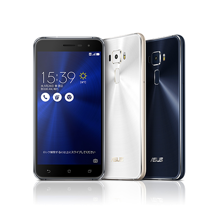 Zenfone 3(White・Black)