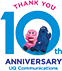 THANK YOU 10th ANNIVERSARY UQ Communications