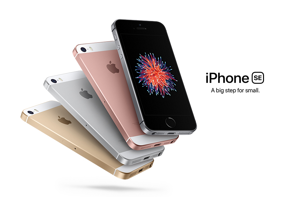 iPhone SE, A big step for small.