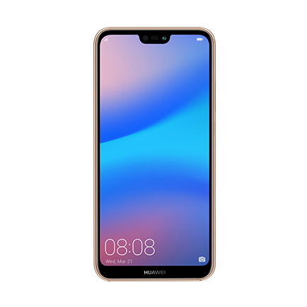 HUAWEI P20 lite(サクラピンク 正面)