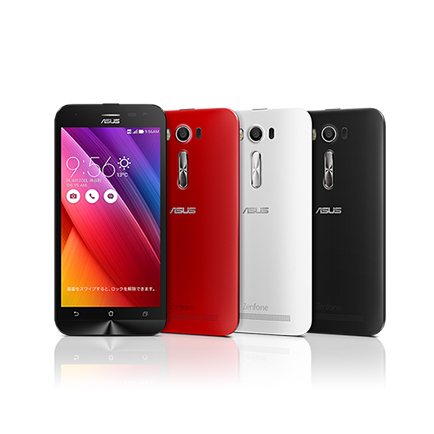Zenfone 2 Laser(Black・Red・White)