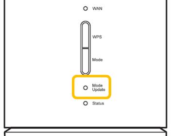 L01s Mode Updateランプが赤で点灯しています よくあるご質問 Uq Wimax ルーター 公式